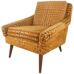 Unique Mid-Century Modern Armchair