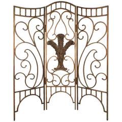 Beautiful Ornate Steel Decorator's Screen