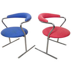 Anton Lorenz For Thonet Mid-Century Chairs