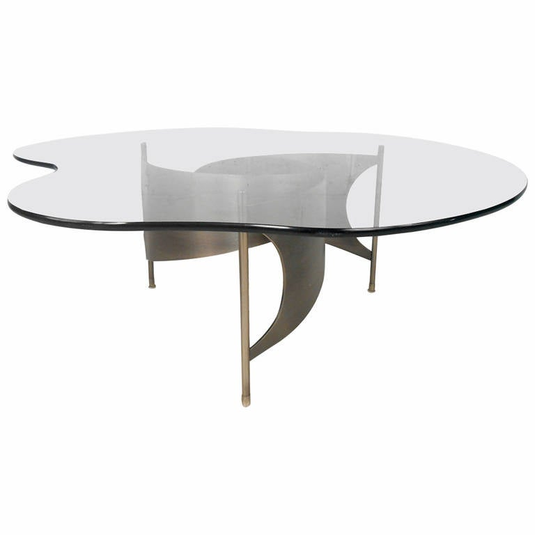 Mid-Century Modern Knut Hesterberg Style Coffee Table