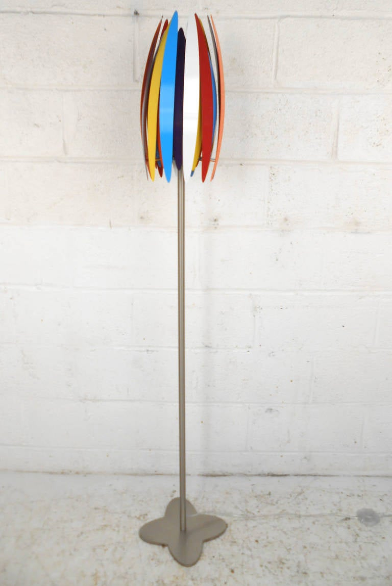 Unique Vintage Petal Style Floor Lamp At 1stdibs
