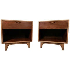 Beautiful Pair Of Mid-Century Nightstands From Lane