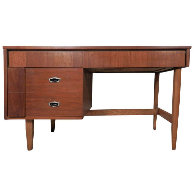 Mid Century Modern Desk By For