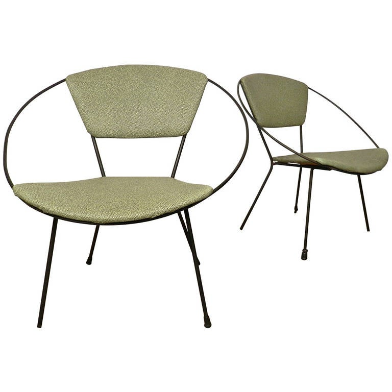 Mid Century Modern Circle Chair By Joseph Cicchelli For Sale