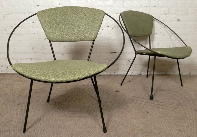 Mid Century Modern Circle Chair By Joseph Cicchelli At 1stdibs