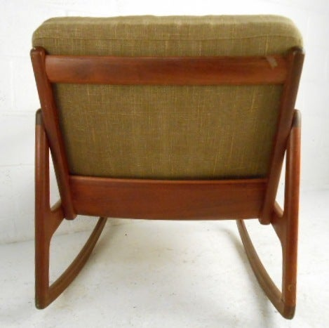 Danish Modern Rocking Chair by France & Daverkosen In Good Condition For Sale In Brooklyn, NY