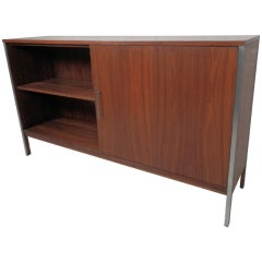 Mid-Century Double-Sided Sliding Door Cabinet by Paul McCobb for Calvin