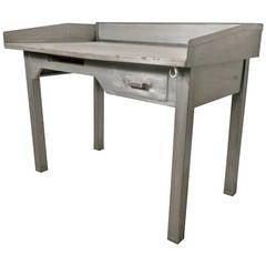 Mid-20th Century Metal Postmaster Desk