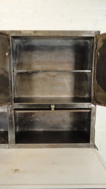 vintage metal hoosier cabinet at 1stdibs