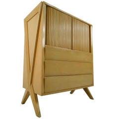 Tall Midcentury Dresser in Paul Laszlo Style