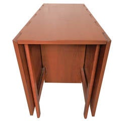 Mid-Century Drop Leaf Table By George Nelson