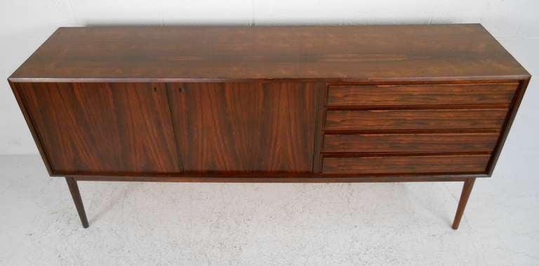 Scandinavian Modern Danish Rosewood Credenza by Maurice Villency