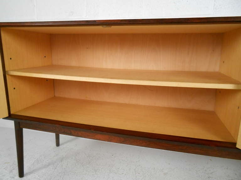 Mid-20th Century Danish Rosewood Credenza by Maurice Villency