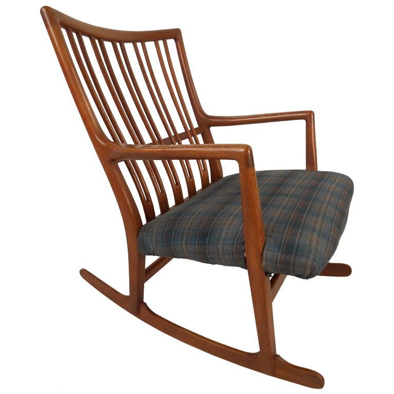 Hans Wegner Rocking Chair at 1stdibs