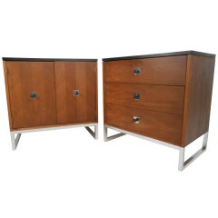 Pair of Mid-Century Bedside Dressers by Thomasville