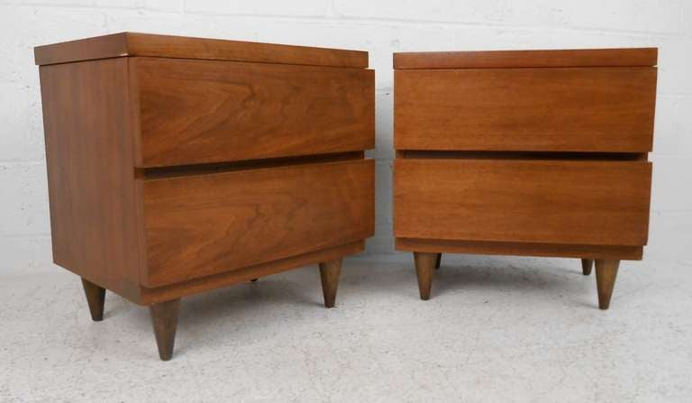Bassett Furniture Co Mid Century Modern Bedroom Suite For Sale At 1stdibs