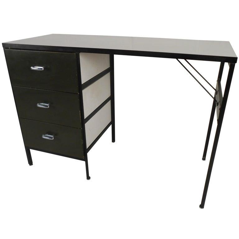 George Nelson Steelframe Desk By Herman Miller At 1stdibs