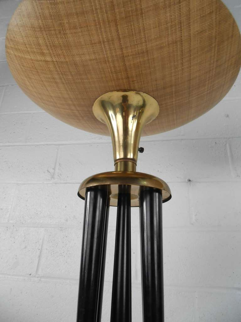 pair vintage torchiere floor lamps at 1stdibs. Black Bedroom Furniture Sets. Home Design Ideas