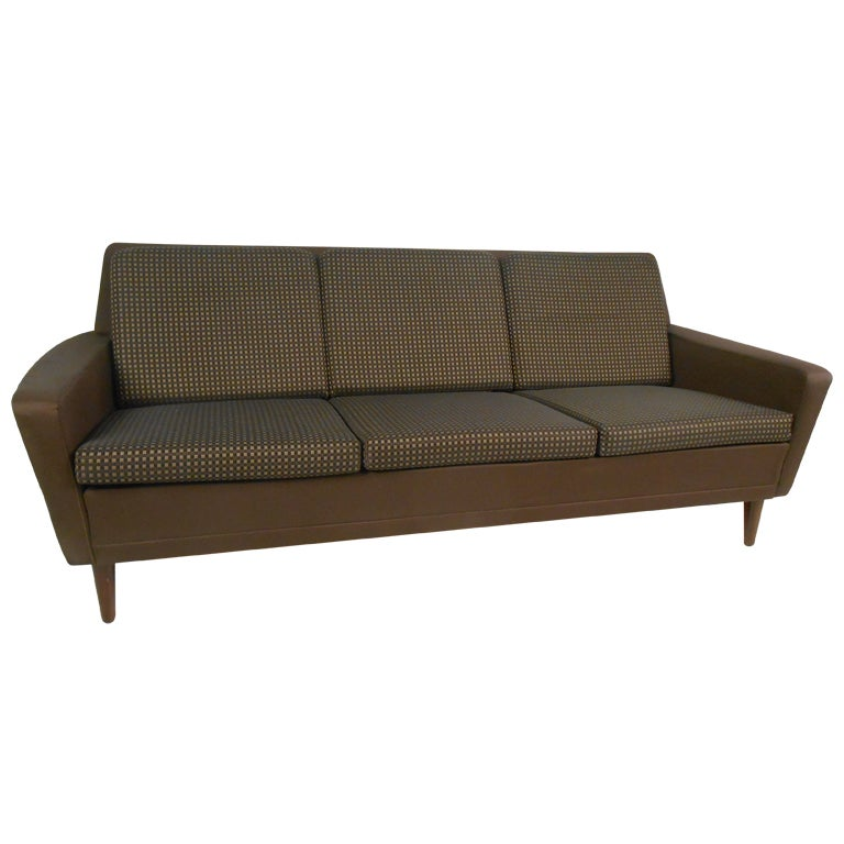 Vintage Dux Danish Modern Sofa At 1stdibs
