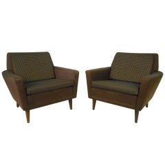 Pair of Dux Club Chairs