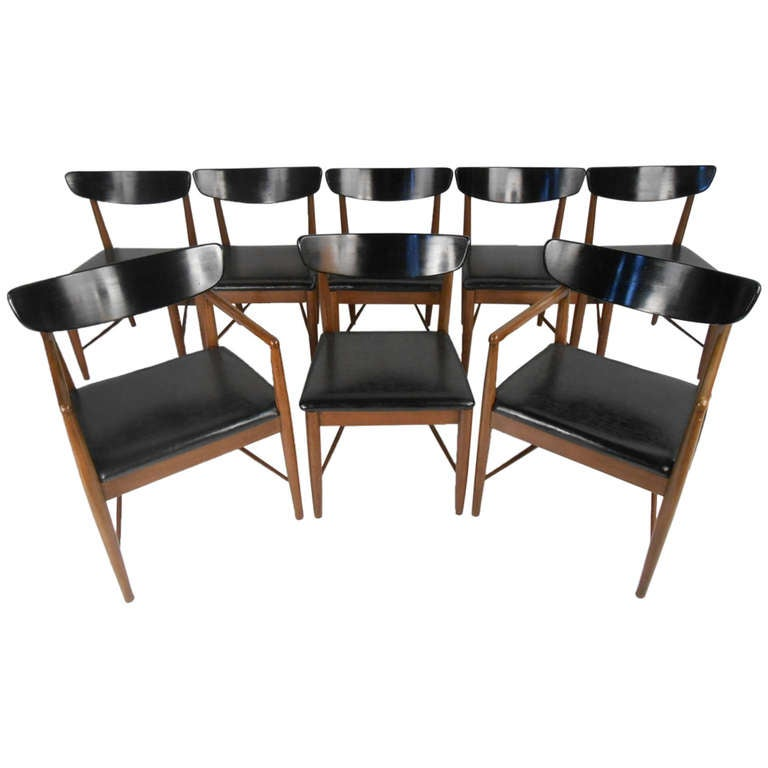 American of martinsville dining chairs at 1stdibs for American furniture dinette sets