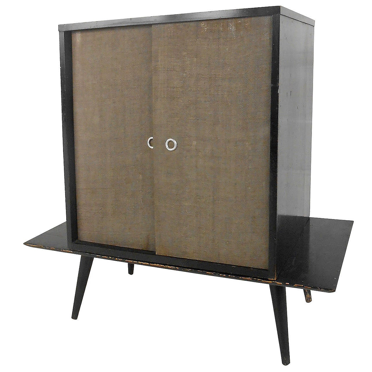 Mid century modern paul mccobb table top cabinet at 1stdibs for Best mid priced kitchen cabinets