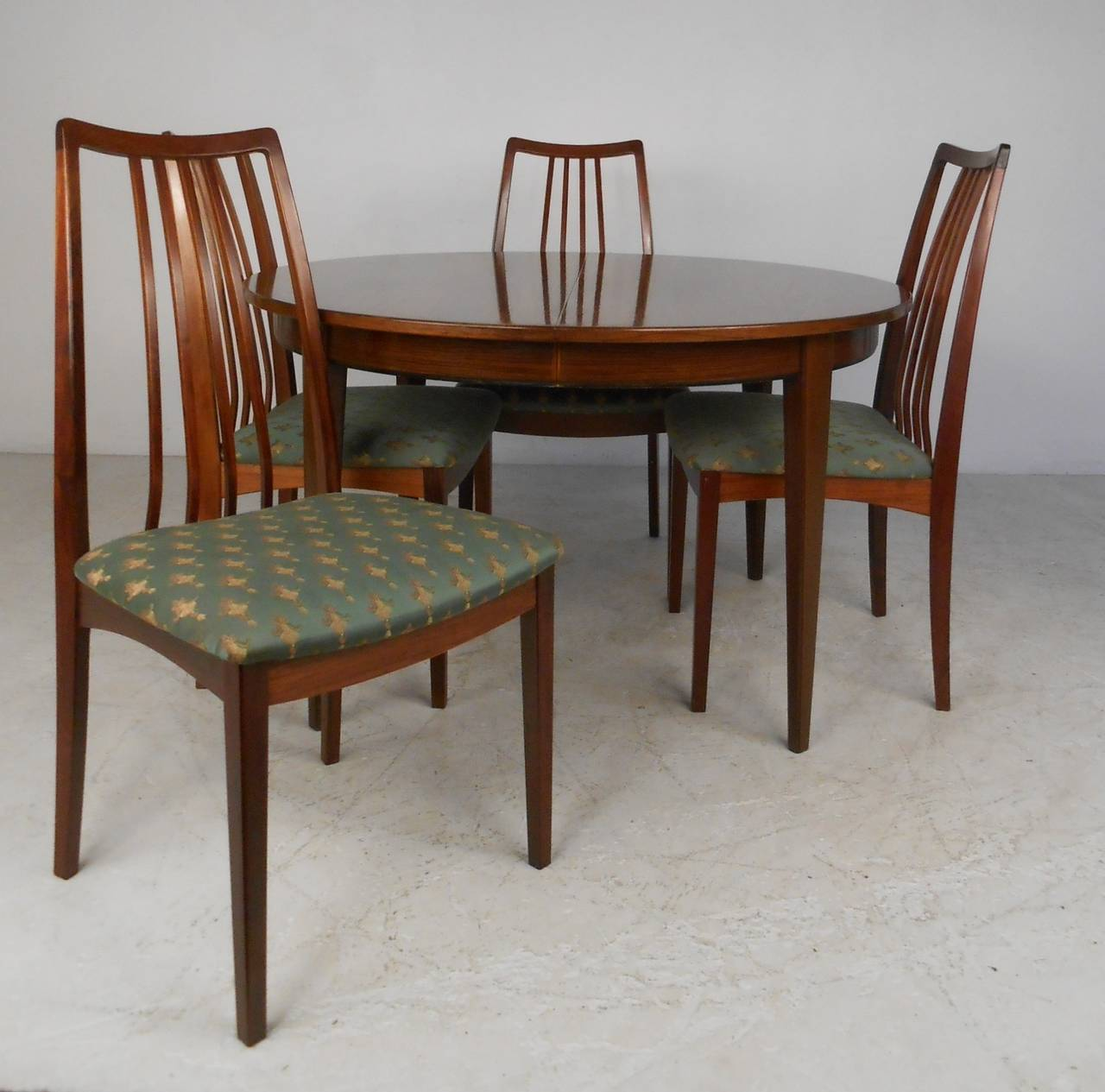 Omann Jun Rosewood Dining Table And Chairs C 1959