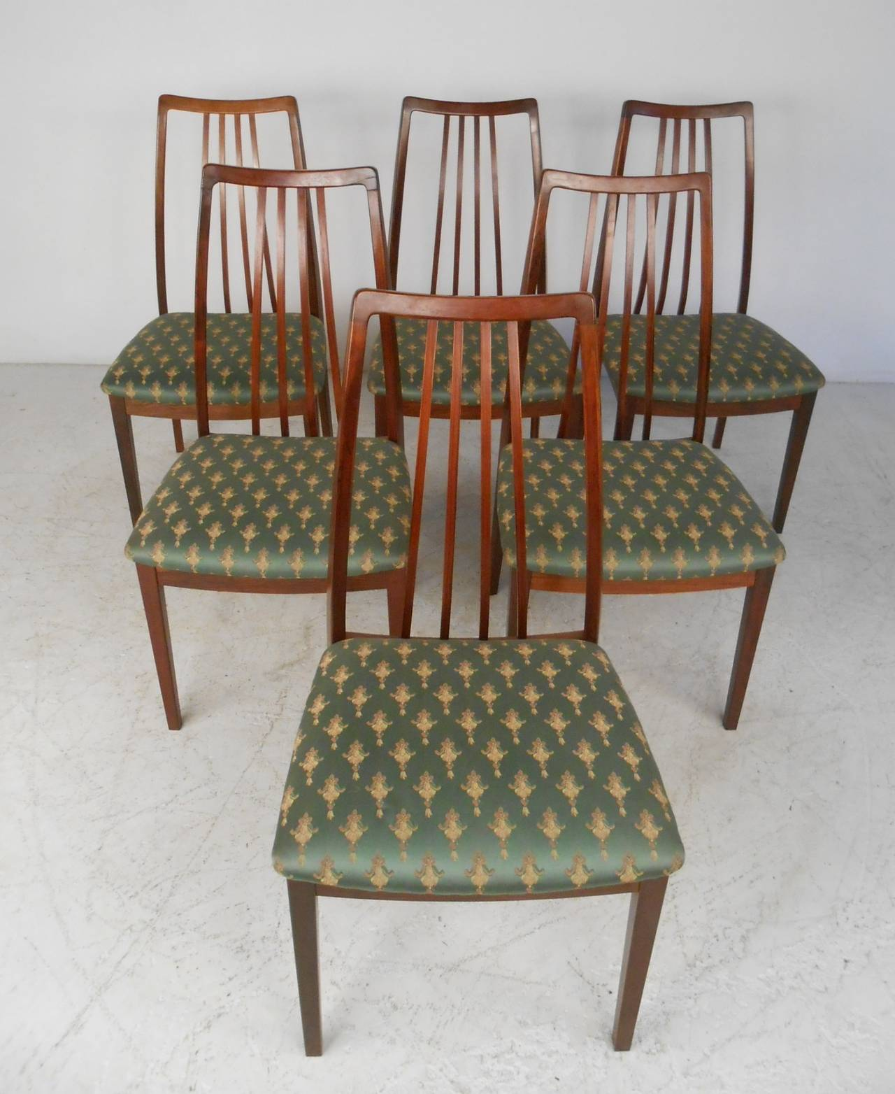Rosewood Dining Room Set: Omann Jun Rosewood Dining Table And Chairs, C. 1959 For