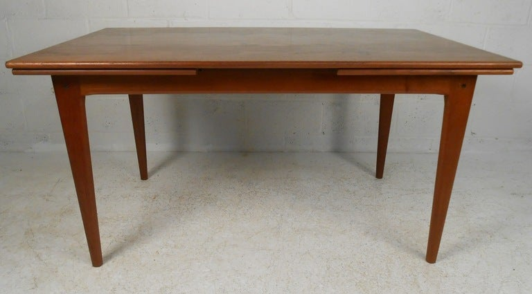Mid Century Danish Dining Table And Chairs At 1stdibs
