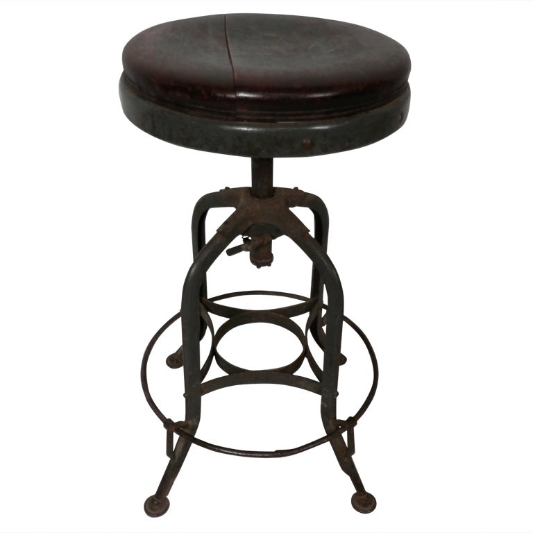 Toledo Style Stool At 1stdibs