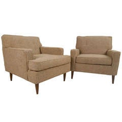 Vintage Modern Club Chairs
