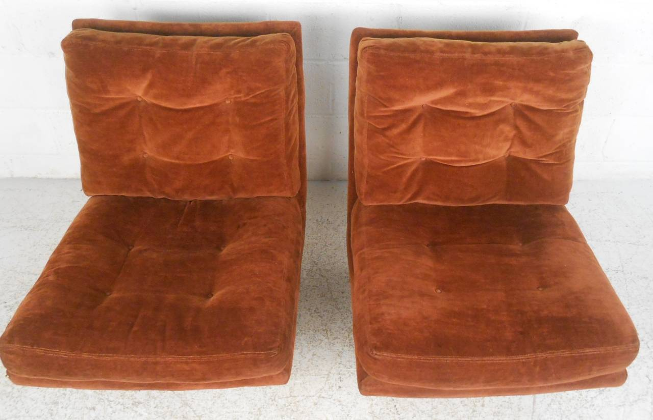 Milo Baughman Lounge Chairs for Thayer Coggin In Good Condition For Sale In Brooklyn, NY