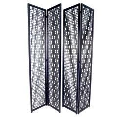 Pair of Tall Decorative Screens