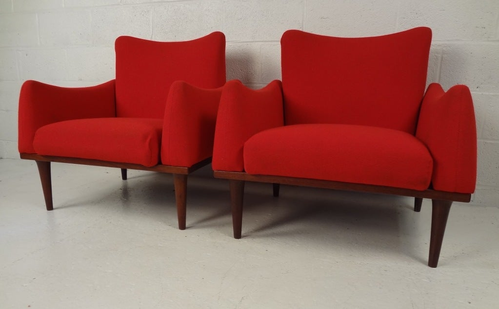 Danish modern living room suite by illum wikkels for sale for Danish living room furniture