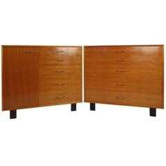 "Pair Herman Miller ""Primavera"" Dressers by George Nelson"