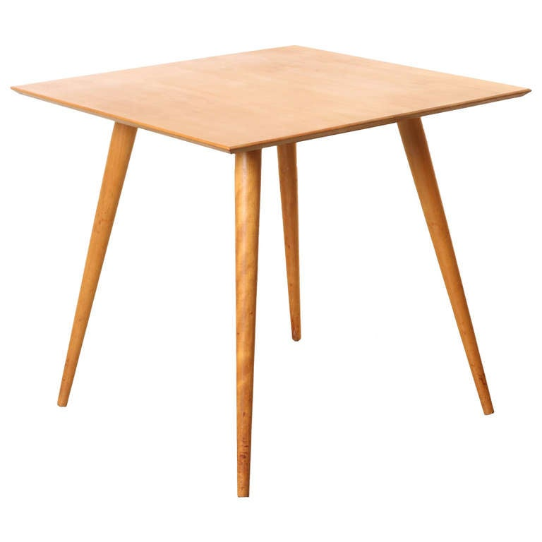 Paul McCobb Planner Group Square Dining Table at 1stdibs