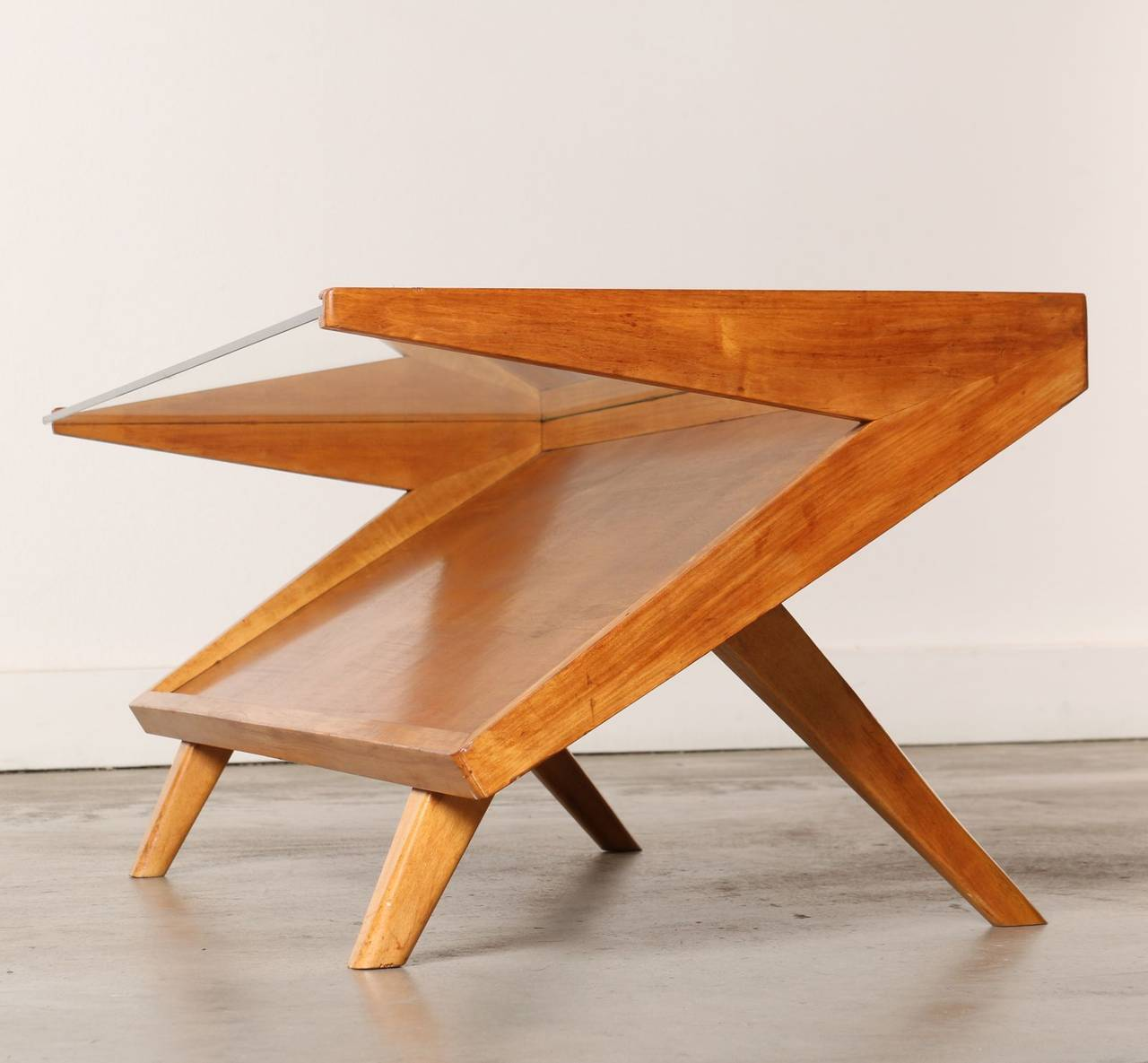 Mid Century Coffee Table John Keal For Brown Saltman At
