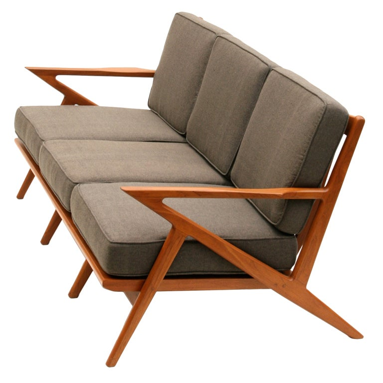 Z sofa replica poul jensen solid wood fabric selig z sofa single seater thesofa - Selig z chair reproduction ...