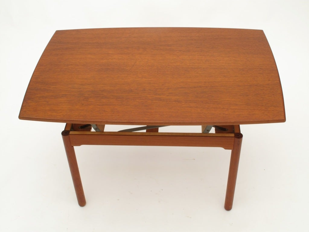 "Expandable Coffee Table sesam"" swedish expandable coffee table / dining table at 1stdibs"