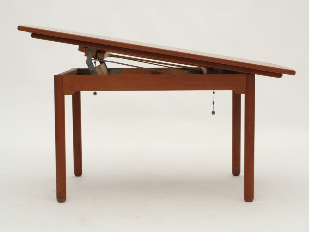 Sesam swedish expandable coffee table dining table at 1stdibs Coffee table to dining table