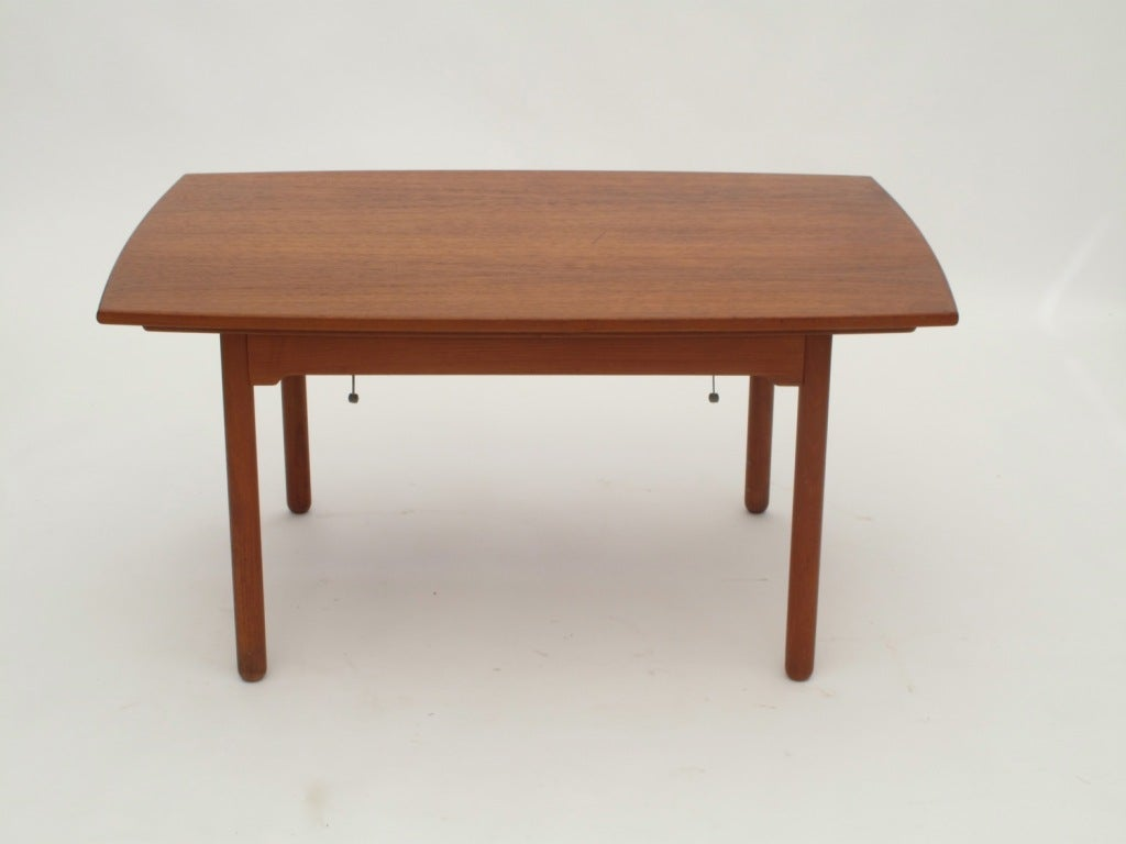 Sesam swedish expandable coffee table dining table at 1stdibs Coffee table dining