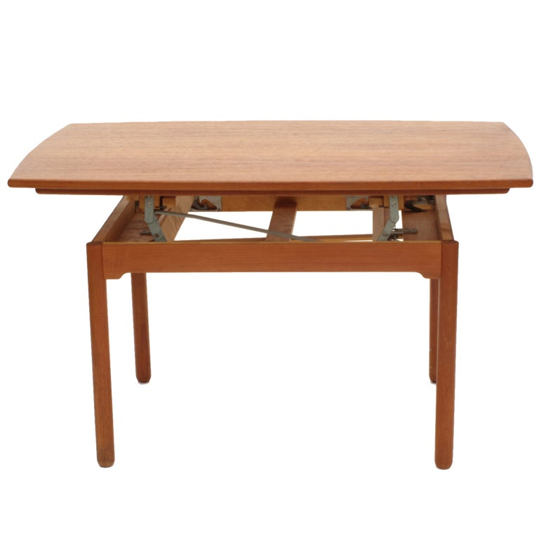 Sesam Swedish Expandable Coffee Table Dining Table At 1stdibs