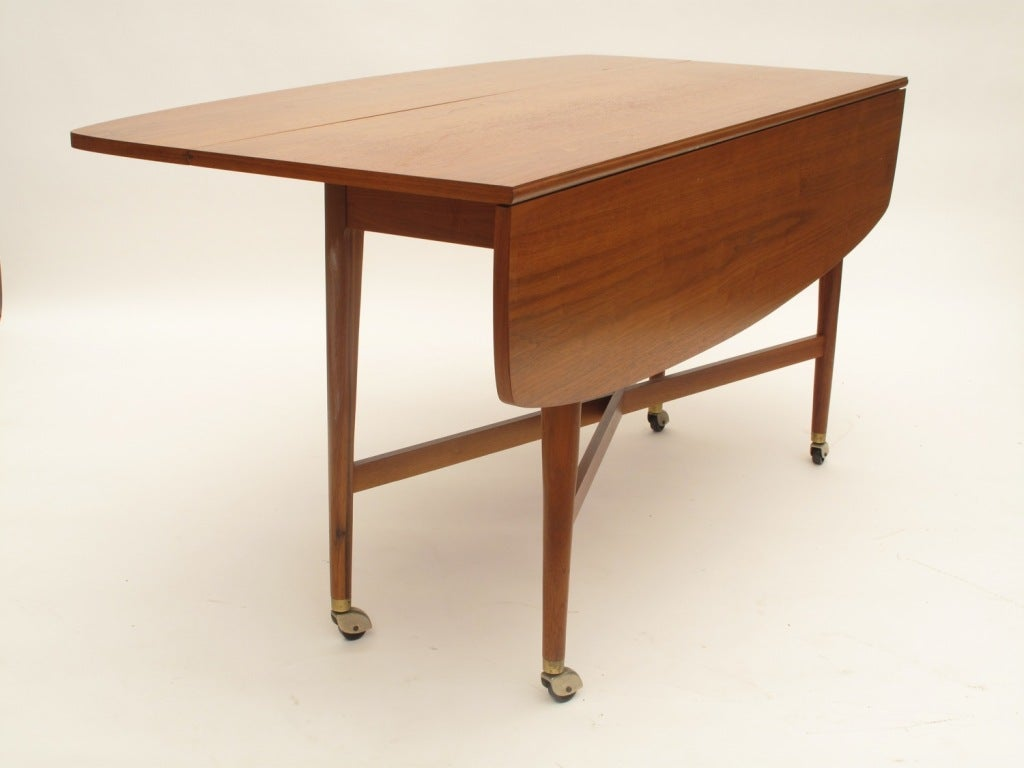 Drexel sofa drop leaf dining table at 1stdibs for Dining room tables drop leaf