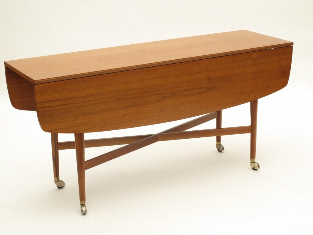 drexel sofa drop leaf dining table at 1stdibs