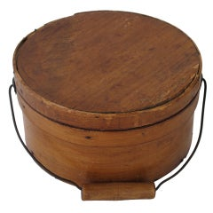 19th Century Cheese Box, Original Finish