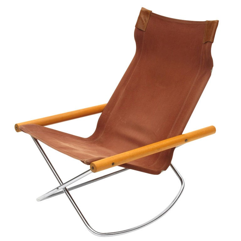 Takeshi Nii Quot Ny Chair Quot Folding Rocker At 1stdibs