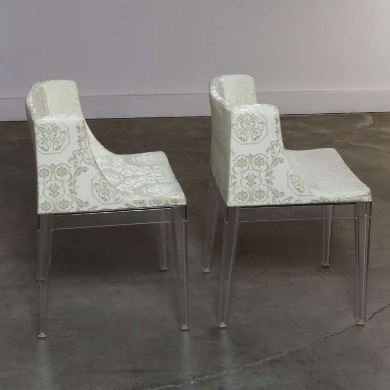 Pair of lucite mademoiselle chairs by philippe starck made in italy at 1stdibs - Chaise mademoiselle starck ...