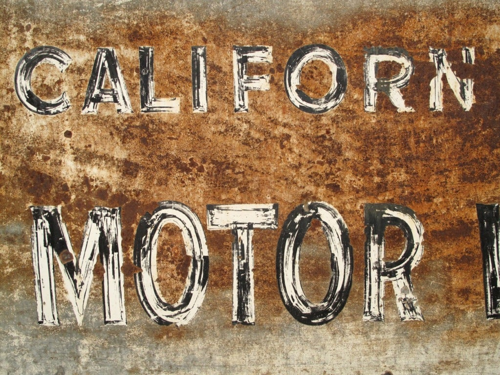 1960 39 S State Of California Dept Of Motor Vehicles Sign