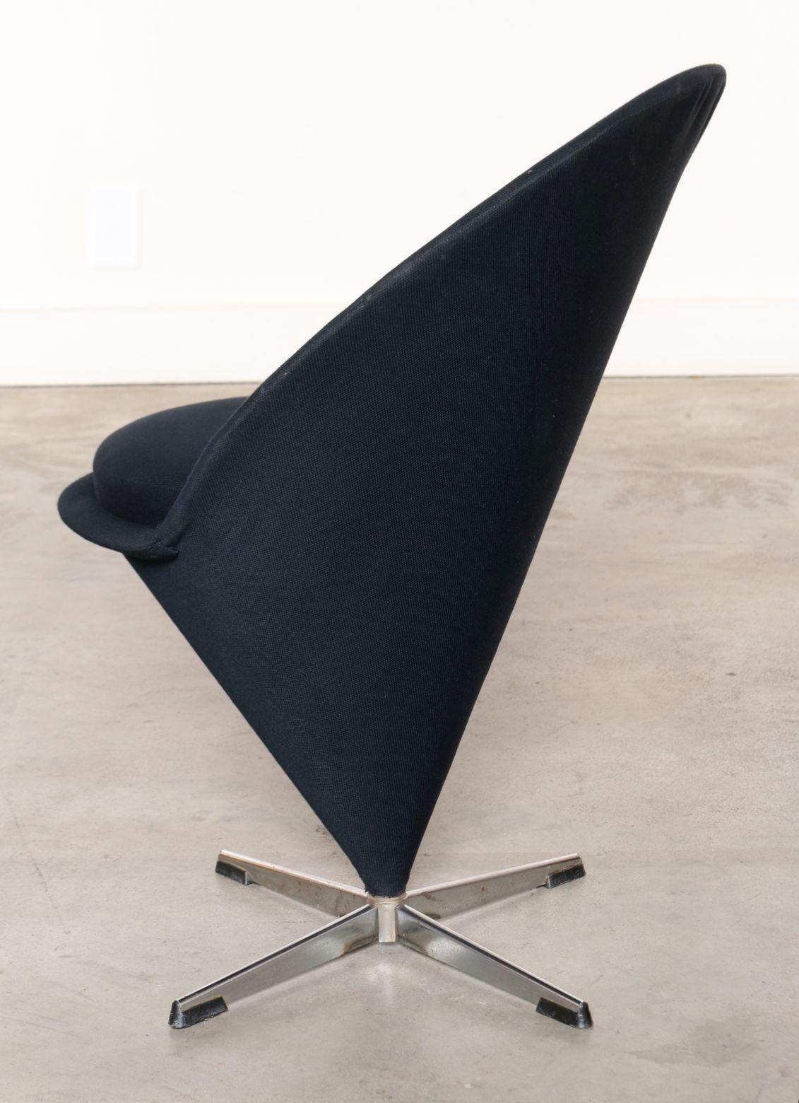 Original Panton Chair four original 1950s verner panton quot k1 cone chairs quot at 1stdibs