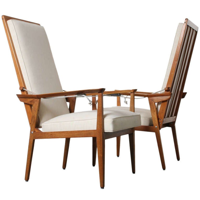 Catalina High Back Lounge Chairs At 1stdibs